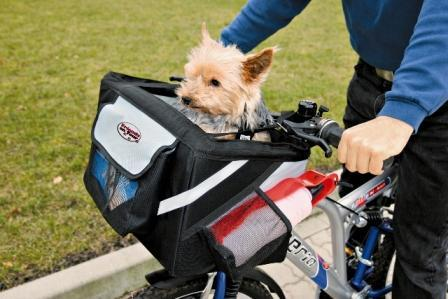 cykeltaske hund